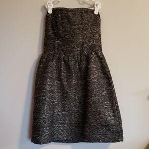 GAP - Tweed Strapless Dress